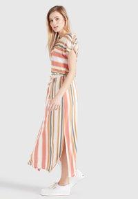 khujo - DOREEN - Maxi dress - mehrfarbig gestreift - 4