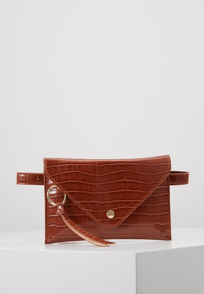 Inyati - IDA - Bum bag - brandy brown croco