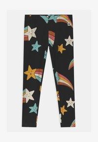 Lindex - MINI SHOOTING STARS - Leggings - Trousers - off black - 0