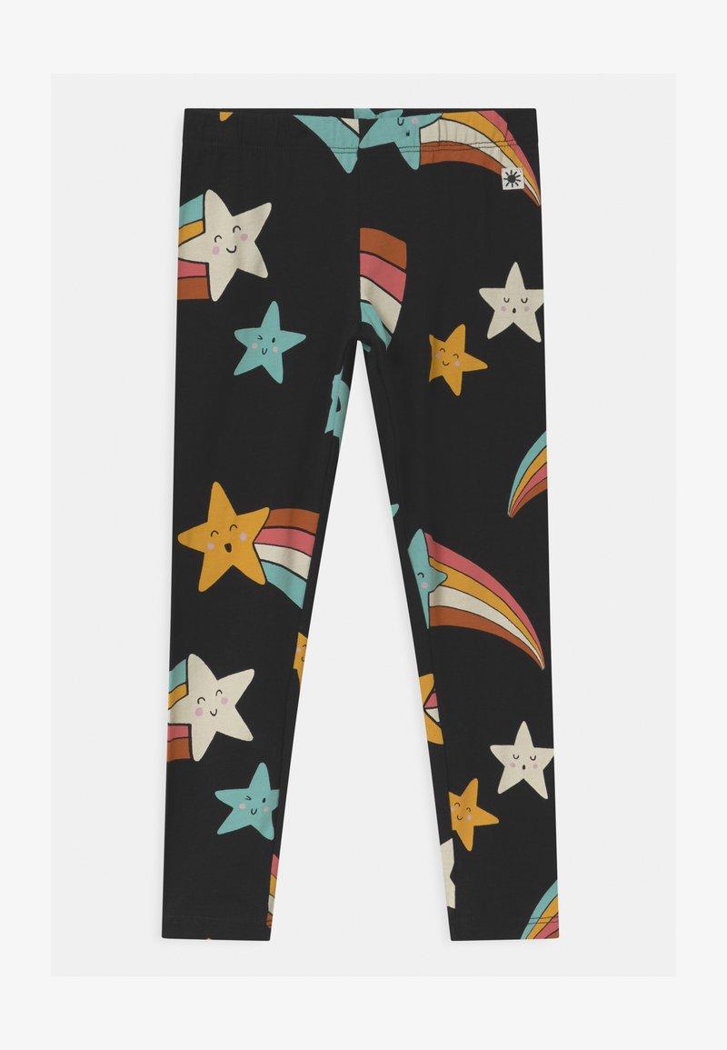 Lindex - MINI SHOOTING STARS - Leggings - Trousers - off black