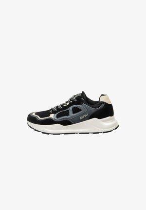 CONCRETE - SNEAKER LOW - Sneakers basse - blk/grytan
