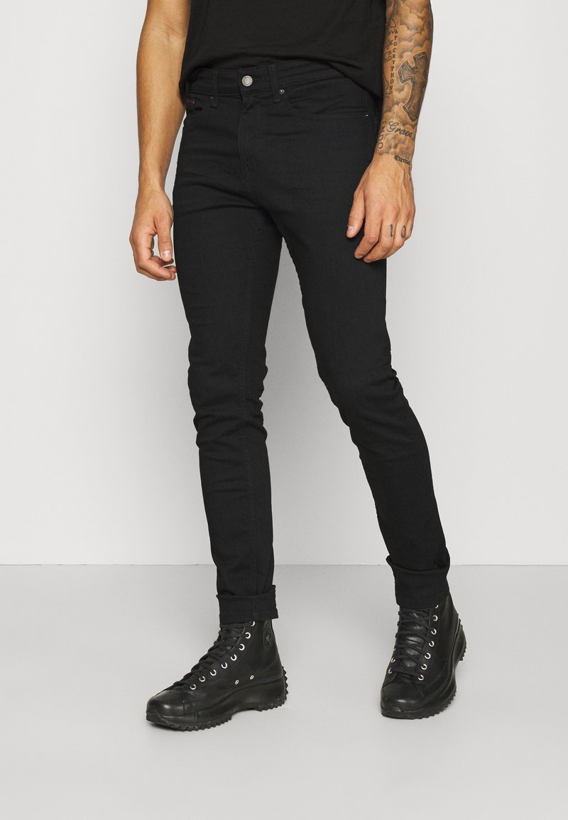 Tommy Jeans - AUSTIN SLIM  - Slim fit jeans - new black