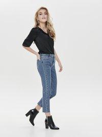 ONLY - EMILY  - Straight leg jeans - dark blue denim - 1