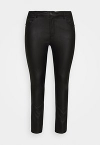 KCADELEN COATED - Jeans Skinny Fit - black deep