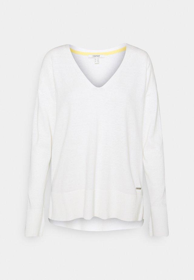 VNECK  - Jumper - off white