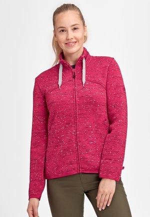 CHAMUERA - Fleece jacket - sundown