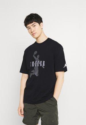 CREW - T-shirt med print - black