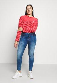Zizzi - NILLE LIM - Jeans Skinny Fit - blue denim - 1