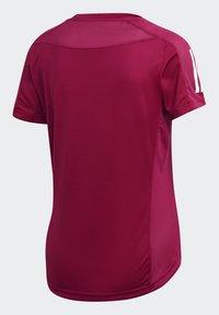 adidas Performance - OWN THE RUN TEE - T-shirts med print - powber/white - 5