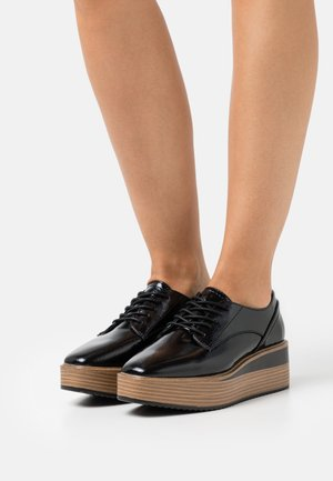 VEGAN SANSA - Zapatos de vestir - black