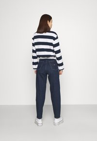Tommy Jeans - STRIPED RUGBY - Polo - twilight navy - 2