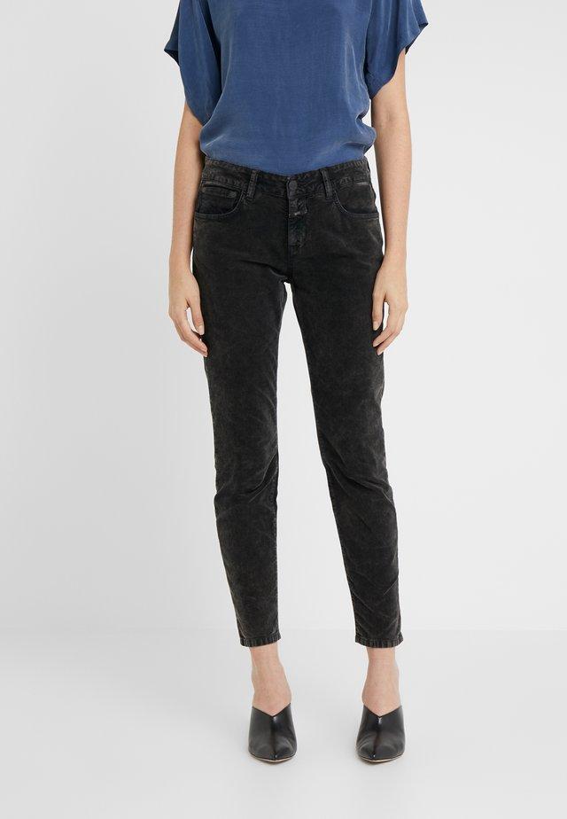 BAKER - Pantalon classique - washed black