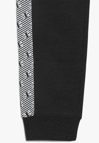 Champion - CHAMPION X ZALANDO PANT - Spodnie treningowe - black/white - 2