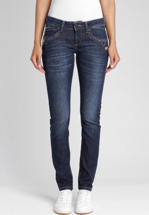 Jeans Skinny Fit - deep blue wash