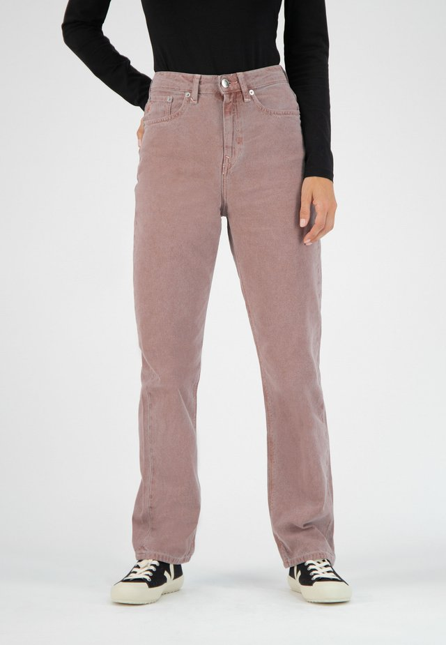 Straight leg jeans - terra