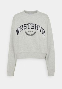 WRSTBHVR - AVA SWEATER - Sweatshirt - grey melange - 0