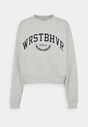 AVA SWEATER - Sweatshirt - grey melange