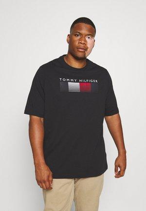 FADE GRAPHIC TEE - Print T-shirt - black