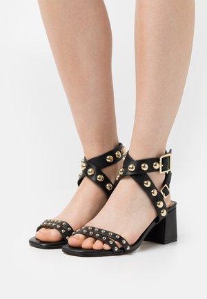 HARLA - Sandals - noir