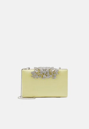 CHARLOTTE - Clutches - pastel yellow/silver