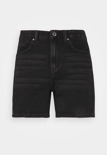 ONLPHINE LIFE - Shorts di jeans - black denim