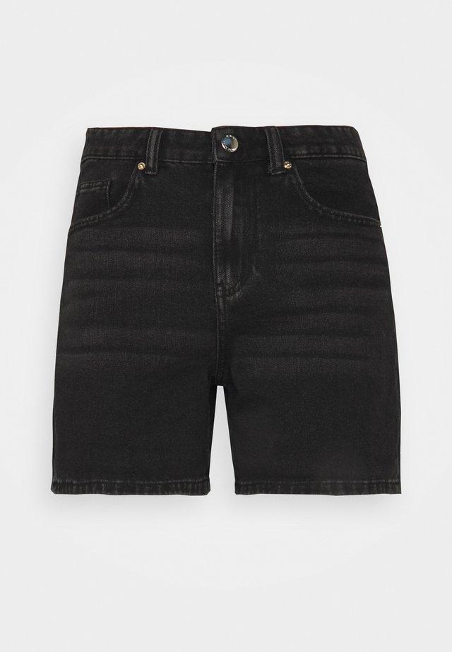 ONLPHINE LIFE - Jeansshorts - black denim