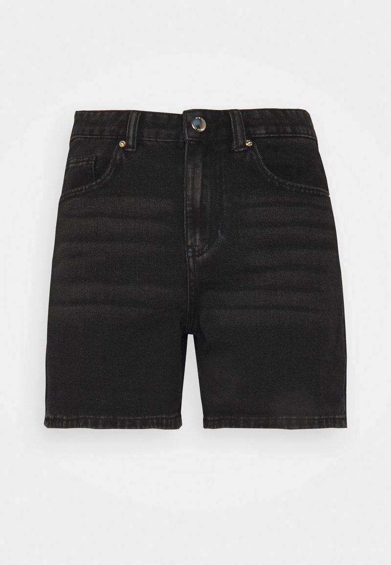 ONLY Petite - ONLPHINE LIFE - Shorts di jeans - black denim
