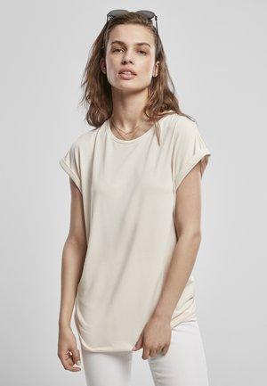 Basic T-shirt - whitesand