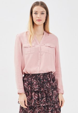 Button-down blouse - rose pastel