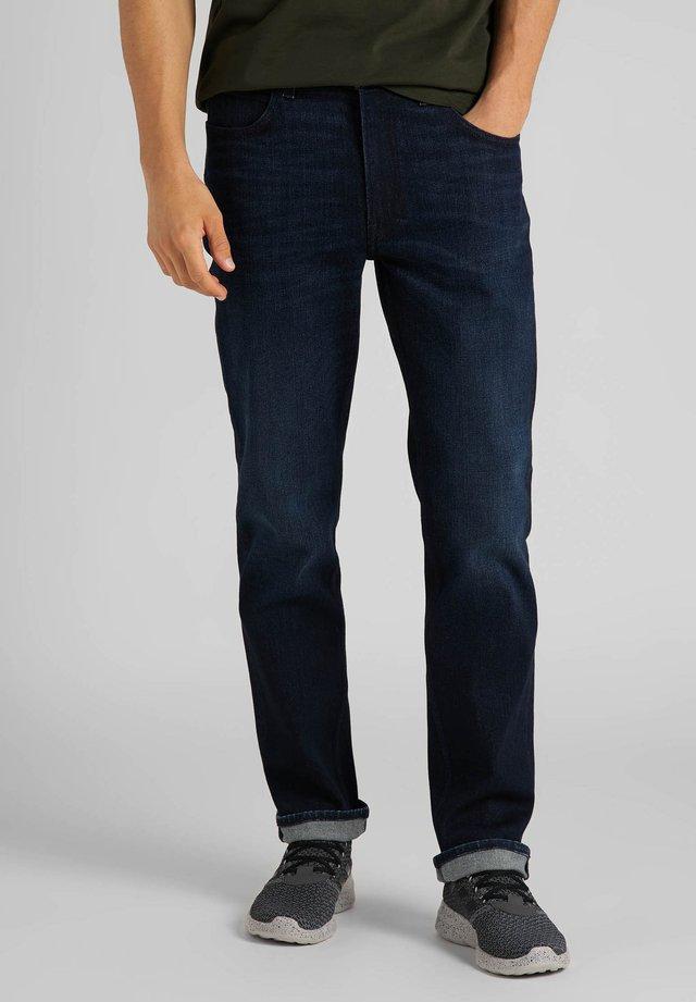 BROOKLYN  - Straight leg jeans - dk tonal park