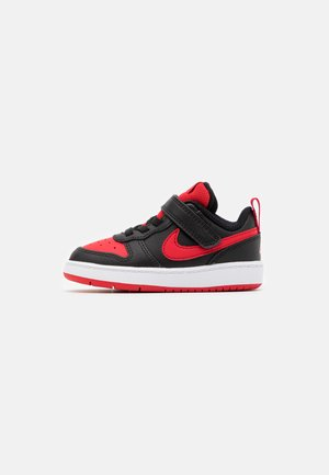 COURT BOROUGH 2 UNISEX - Sneakers - black/university red/white