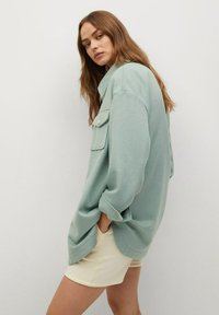 Mango - CAKE - Button-down blouse - mint green - 5