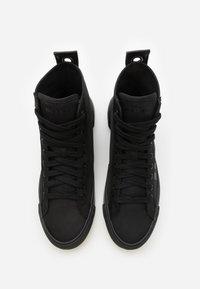 Diesel - DESE S-DESE MID CUT - Sneakersy wysokie - black - 3
