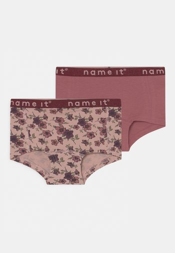 NKFHIPSTER DECO ROSE FLOWER 2 PACK - Pants - pink
