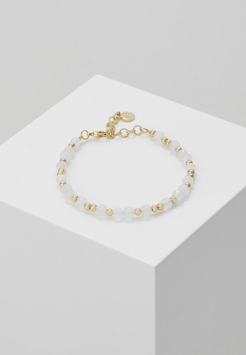SNÖ of Sweden - ROC BRACE - Armband - gold-coloured/white