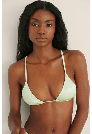 Bikini top - dusty green