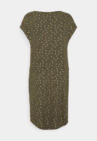 ONLY - ONLMILLIE BELT DRESS - Jerseykjole - kalamata/gold - 6