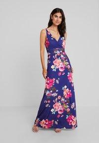 Anna Field - Day dress - white/light pink/dark blue - 0