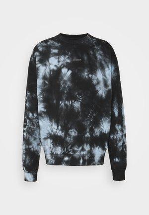 OVERSIZED TIE DYE UNISEX - Sweatshirt - blue