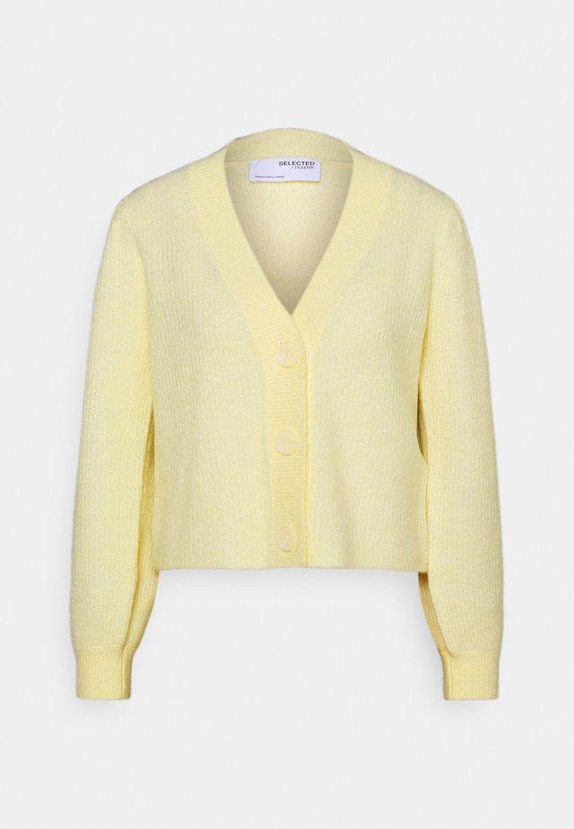 SLFLIPA  - Cardigan - pastel yellow