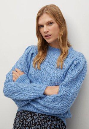 TRENCIO - Pullover - blau
