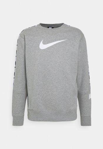 REPEAT CREW - Sweatshirts - grey heather/white/black