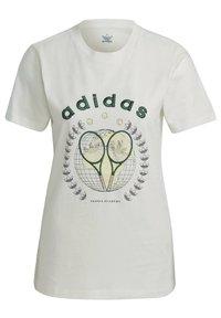 adidas Originals - TENNIS LUXE GRAPHIC ORIGINALS - T-shirt imprimé - off white - 8