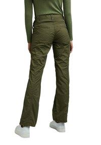 Esprit - PLAY - Trousers - khaki green - 2
