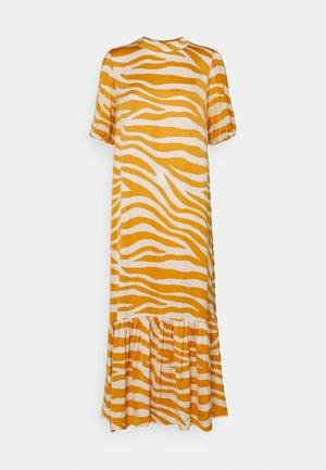 FABIANA DRESS - Maxi dress - fall leaf zebra