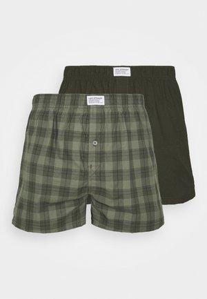 MEN 2 PACK - Boxershorts - khaki