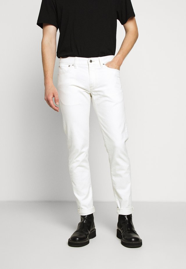 Jeans slim fit - crescent cream