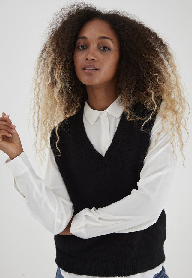BXMAY - Stickad tröja - black