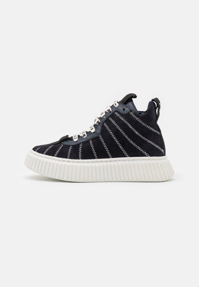 Zapatillas altas - dark blue