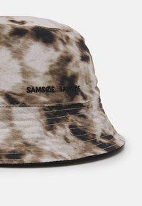 Samsøe Samsøe - ANTON BUCKET HAT UNISEX - Klobouk - light brown - 3